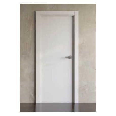 Puerta Laminada Maciza Blanco Savia