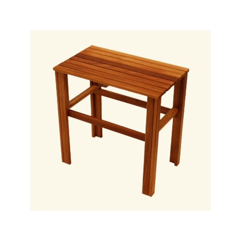 Banco de madera para bao banco de madera para bao pin by eliane de almeida santos on ideias - Bancos de madera para banos ...
