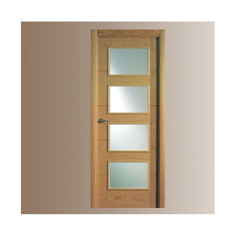 Puerta en block modelo 8814 for Puertas en block baratas