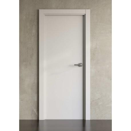 Puerta lacada en blanco Block modelo 1000