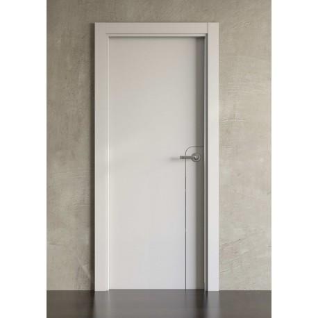 Puerta lacada en blanco Block modelo 1001