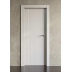 Puerta lacada en blanco Block modelo 1006
