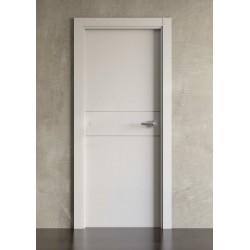 Puerta lacada en blanco Block modelo 2001