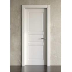 Puerta lacada en blanco Block modelo clásica 3br