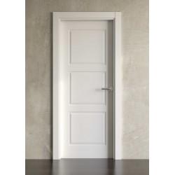 Puerta lacada en blanco Block modelo clásica 3cr
