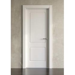 Puerta lacada en blanco Block modelo clásica 600