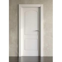 Puerta lacada en blanco Block modelo clásica 701