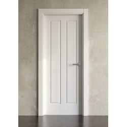 Puerta lacada en blanco Simple modelo clásica 2br