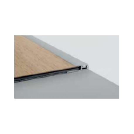 Perfil Final Clic Aluminio Instalaciones Residenciales