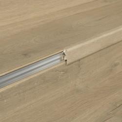 QUICK STEP SUBPERFIL INCIZO ALUMINIO ESCALERA ESPESOR 17mm. TIRA DE 2,15m