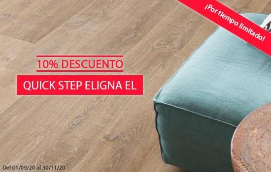10% descuento en Quick Step Eligna El