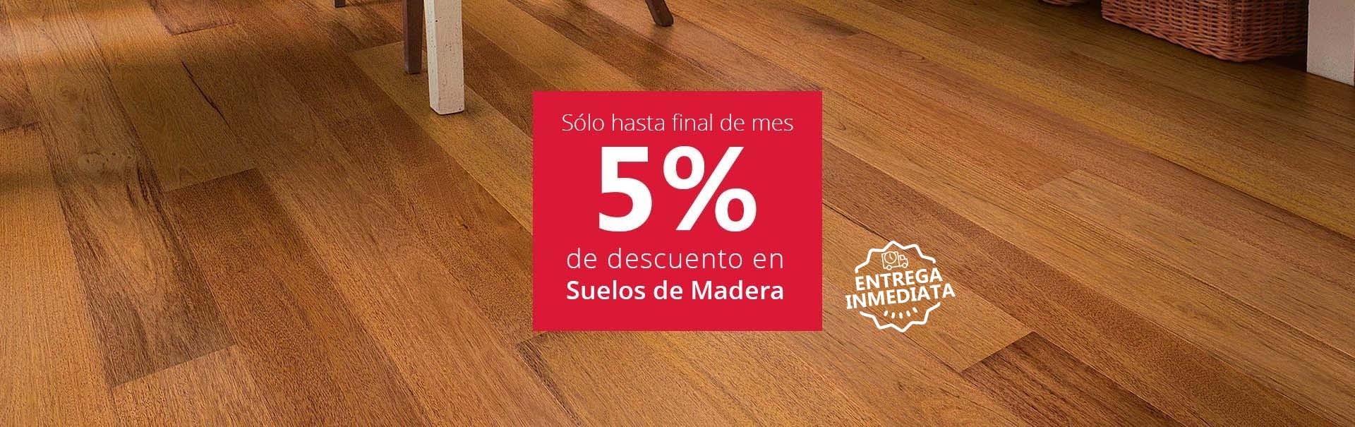 5% Dto. en Suelos de Madera